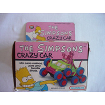 Glasslite : The Simpsons Crazy Car Novo Estoque Antigo 1990