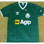 Camiseta Retrô Palmeiras Agip 1988 - Verde - Envio Imediato