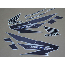 Kit Adesivos Honda Cbx Twister 250 2007 Prata - Decalx