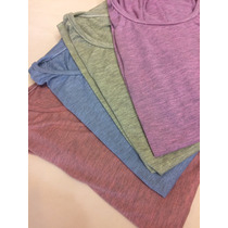 Pack 10 Remeras De Modal Mujer Ideal Sublimar S-xxl Colores