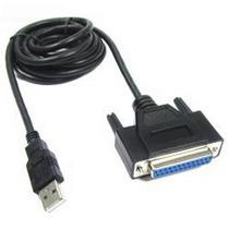 Cable Adaptador Usb A Puerto Paralelo Impresora Matriz Punto