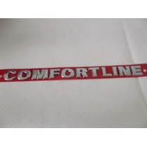 Emblema Confortline -golf Parati Saveiro Polo Vw- Vm Commer