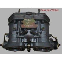 Weber 40 Idf Original + Coletor De Adm. Opala 6cc Gasolina