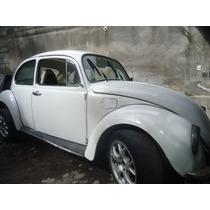 Volkswagen Escarabajo, Color Blanco, Año 1974, Pichirilo.