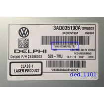 Código De Som Original Volkswagen Gol G6, Polo, Jetta, Fox