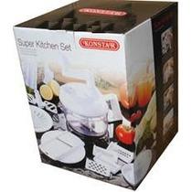 Cortador De Frutas/legumes Super Kitchen Set- Frete Gratis