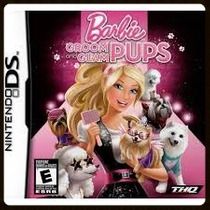 Barbie Groom And Glam Pups Ds Original