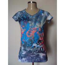 Camiseta Estampa Sublimação