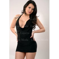 Vestido Escote Buche-minifalda-minivestido-escotado