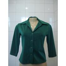 M. Officer, Linda Camisa Verde
