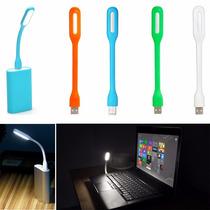 Luminária Led Usb Flexível Notebook Abajur Color