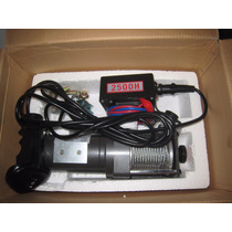 Winche Para Carro De Arraste De Cable Electrico A 12 Volts