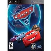 Jogo Infantil Midia Fisica Cars Carros 2 Pra Ps3 Playstation