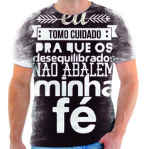 Camisa, Camiseta Gospel Moda Evangélica Frases Cristã 83