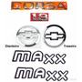 Emblemas Corsa Sedan 1.8 Maxx - 2003 À 2007- Modelo Original