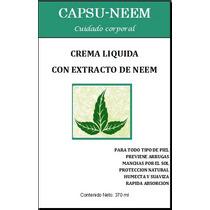 Crema De Neem, Locion De Neem, Nin, Nim