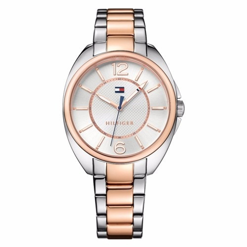 53ccfddf9ec Relógio Tommy Hilfiger Feminino Aço Prateado E Rosé 1781696 - R  399 ...