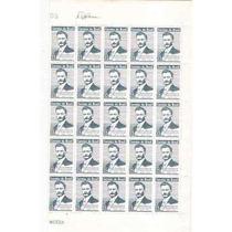 Marmorizado-folha Inteira 50 Selos 529y-epitacio Pessoa-mint