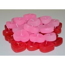 Mini Coração Flutuante - Pacote Com 50 Unidades
