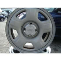 Roda Ferro Aro 15 Eco Sport Prata 4x108 Peugeot Avulsa