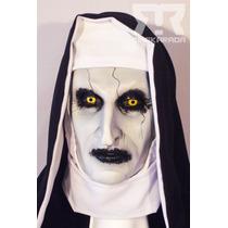 Máscara Conjuro 2,valak, Monja Demoniaca Terror Disfraz