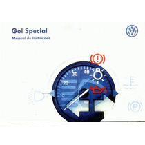Manual Proprietario Gol Special 2003 Original C/suplementos
