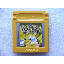 Gbc: Pokemon Yellow Original Americano! Bateria Nova! Raro!