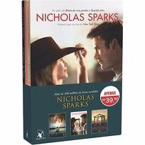 Box Nicholas Sparks ( 3 Livros ) Lacrado