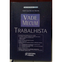 Livro - Vade Mecum Trabalhista - Sebo Refugio Cultural