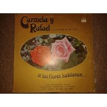 Disco Acetato: Carmela Y Rafael