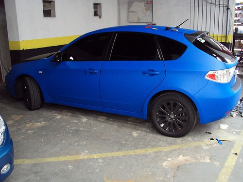 Descreva Artesanato Manufatura E Maquinofatura ~ Envelopamento De Carro Adesivo Azul Fosco 1,22 Largura R$ 14,40 em Mercado Livre