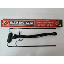 Antena Tv Digital Amplificada Automotiva Carro Dvd Gps
