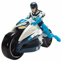Max Steel Max E Turbo Moto Transformável = Mattel