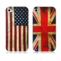 Case Bandeiras British & American National Iphone 4/4s