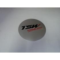 Emblema Tsw 90 Mm Para Rodas Esportivas