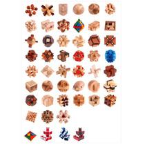 Puzzles - Quebra Cabeça 3d Em Madeira -brinquedo Educacional