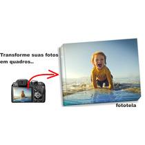 Foto Tela Quadro Personalizado Em Canvas