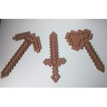 Espada/picareta/machdo Minecraft-ferramentas Minecraft