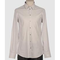 Camisa Social Dolce & Gabbana Made In Italy Tam. G Nova!