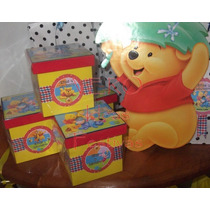 Winnie Poo / Tigger - Cumple Completo 20 Niños
