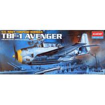 Avião Tbf-1 Avenger Academy 1/72 Kit Tipo Revell E Tamiya