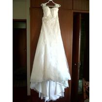 Vestido De Noiva - Ótimo Estado - Estilista Famoso!