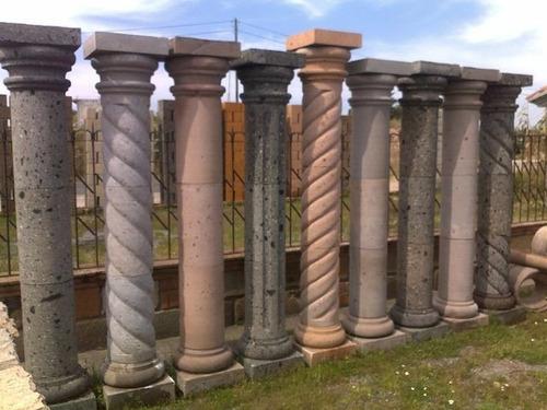 Columna de cantera natural de alto x 30cm ancho for Pilares y columnas