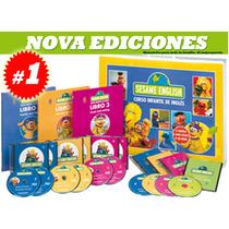 Sesame English Curso Infantil 6 Vols 6 Dvd Nueva Edición