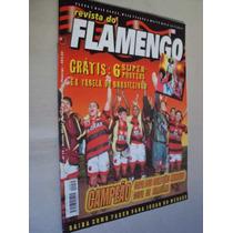 Revista Futebol Flamengo 19 Com 6 Posters Romário Sávio