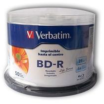 Campana Blu-ray Imprimible Verbatim Bd-r 6x 50 Discos 98191