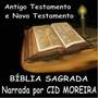 Bíblia Sagrada Narrada Cid Moreira - 36 Cds Em Mp3
