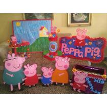 Figuras Para Decoracion Peppa Pig.