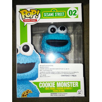 Come Galletas Funko Pop Cookie Monster Plaza Sesame Street