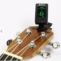 Afinador Eletrônico Clip Violão Guitarra Baixo Violino